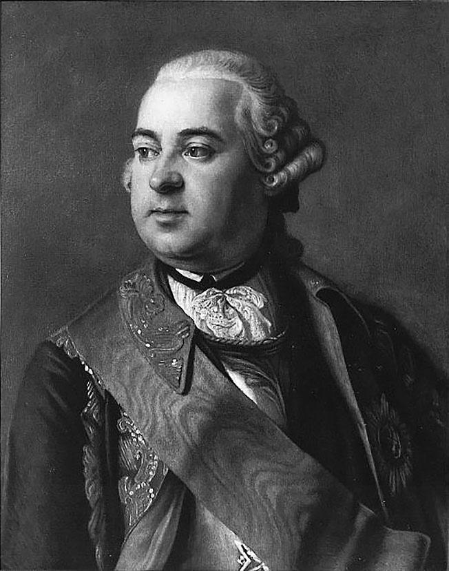 Генерал-фельдцейхмейстер Пётр Шувалов.