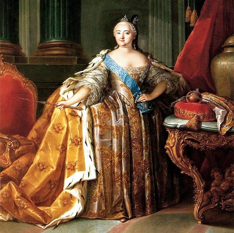 Царица Елизавета Петровна.