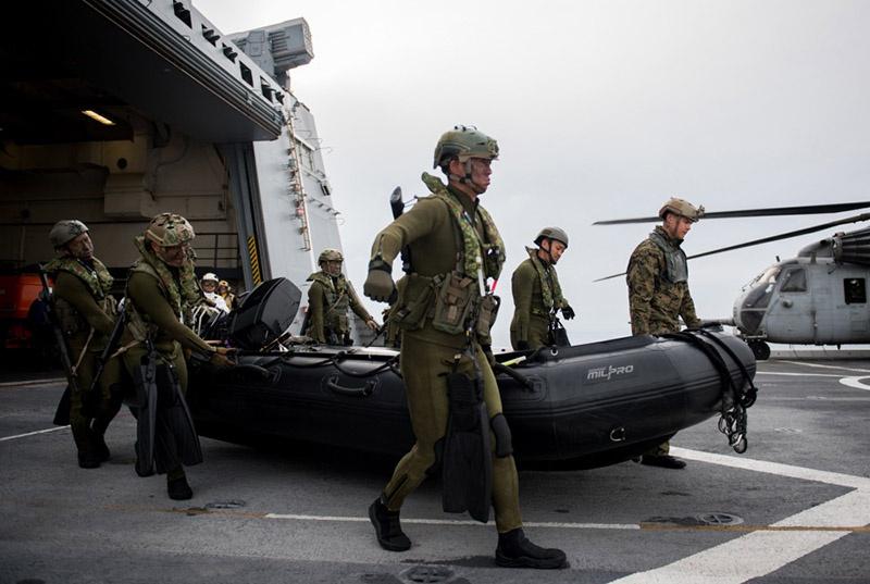 Для японских военных, особенно два последних года, учения Iron Fist - это возможность с помощью опытных американских союзников превратить свою морскую пехоту в реальную силу.