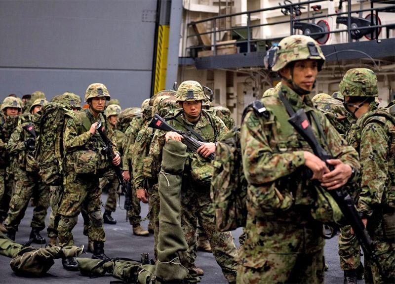 Десантная бригада быстрого реагирования была сформирована 7 апреля 2018 года и является элитным соединением национальных Сухопутных сил самообороны Японии.