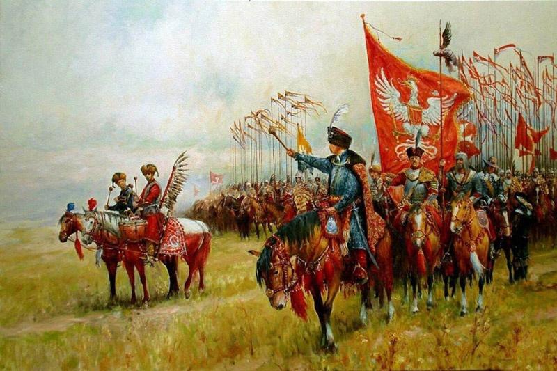 Польские магнаты содержали частные армии по 12-15 тысяч человек.