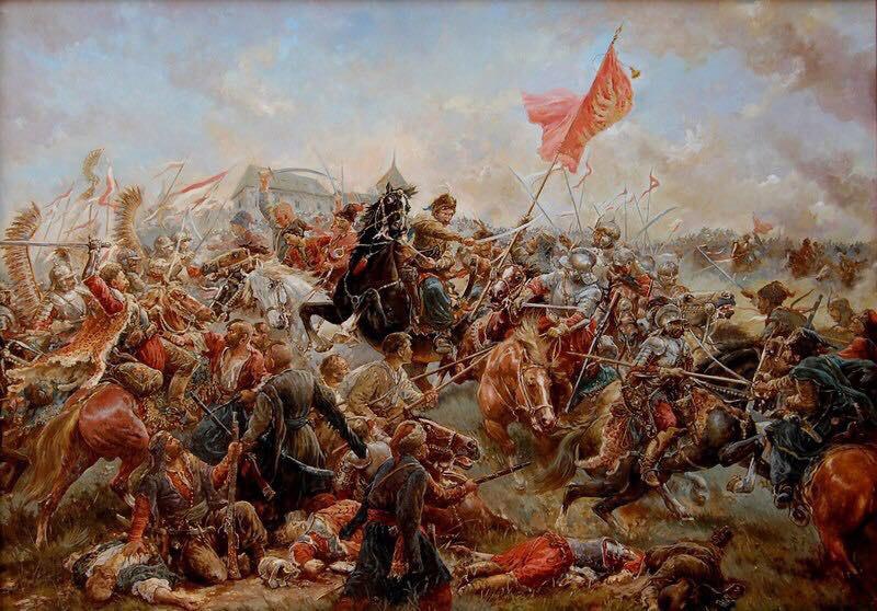 Война под предводительством Хмельницкого начиналась как гражданский внутрипольский конфликт.