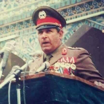 Фото 5. При президенте Наджибулле в северном регионе Афганистана большим авторитетом и влиянием в войсках пользовался генерал Джума Ацах.