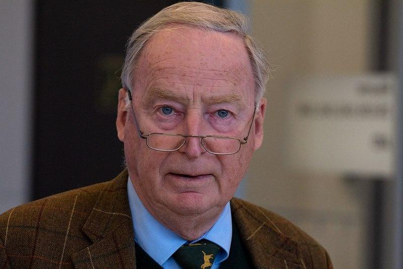 Сопредседатель оппозиционной партии «Альтернатива для Германии» Александр Гауланд.