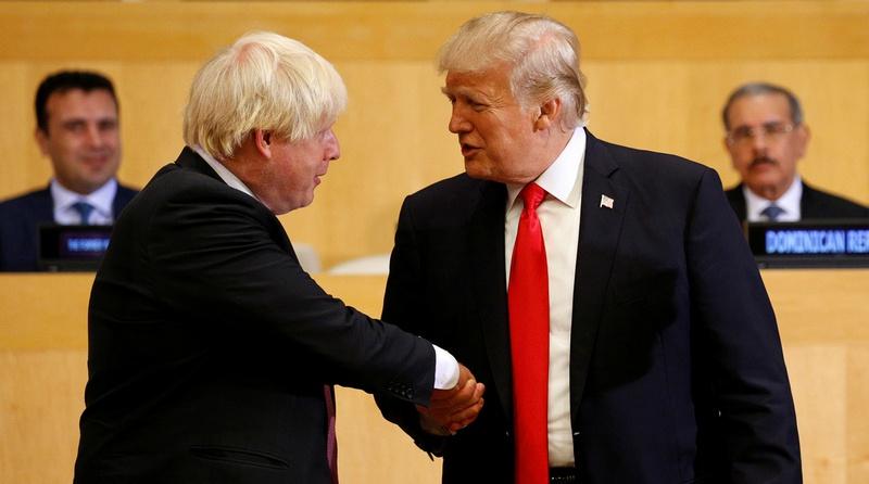В августе 2019 года, Трамп говорил, что США и Великобритания стремительно движутся в сторону заключения сделки о свободной торговле после Brexit.