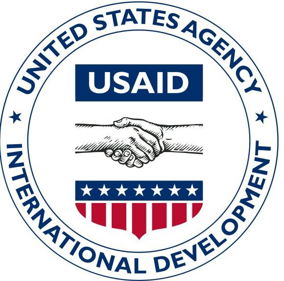 Логотип USAID.