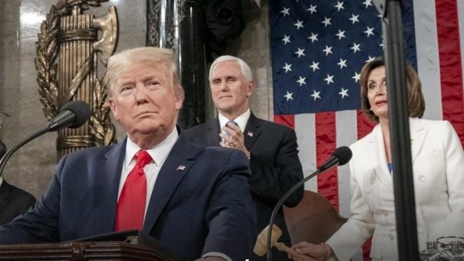 Импичмент пошёл Трампу только на пользу