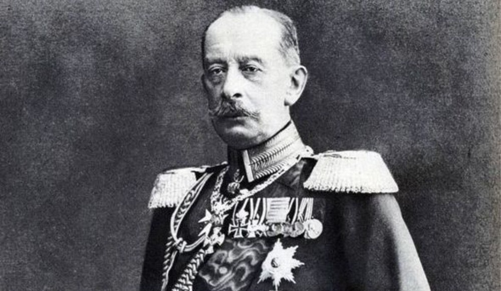 Начальник немецкого Генерального штаба генерал Альфред фон Шлиффен.