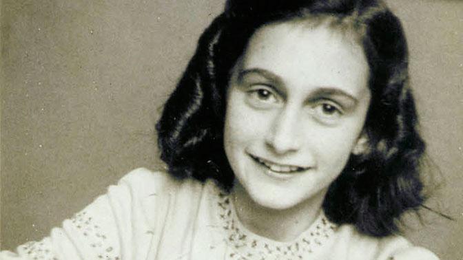 Жертва нацизма Анна Франк.