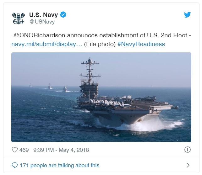 Комментарий адмирала Ричардсона.