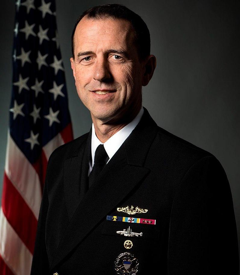 Адмирал Джон Ричардсон, экс-начальник морских операций ВМС США.