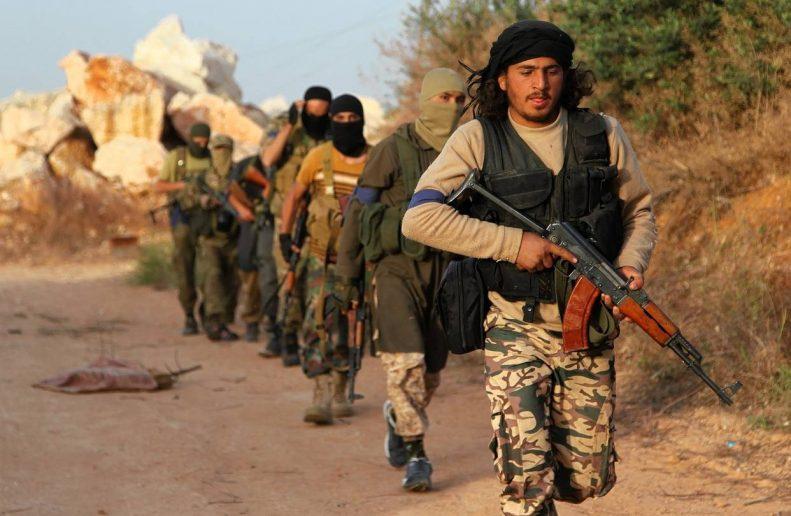 Бойцы ИПТ* в Сирии.