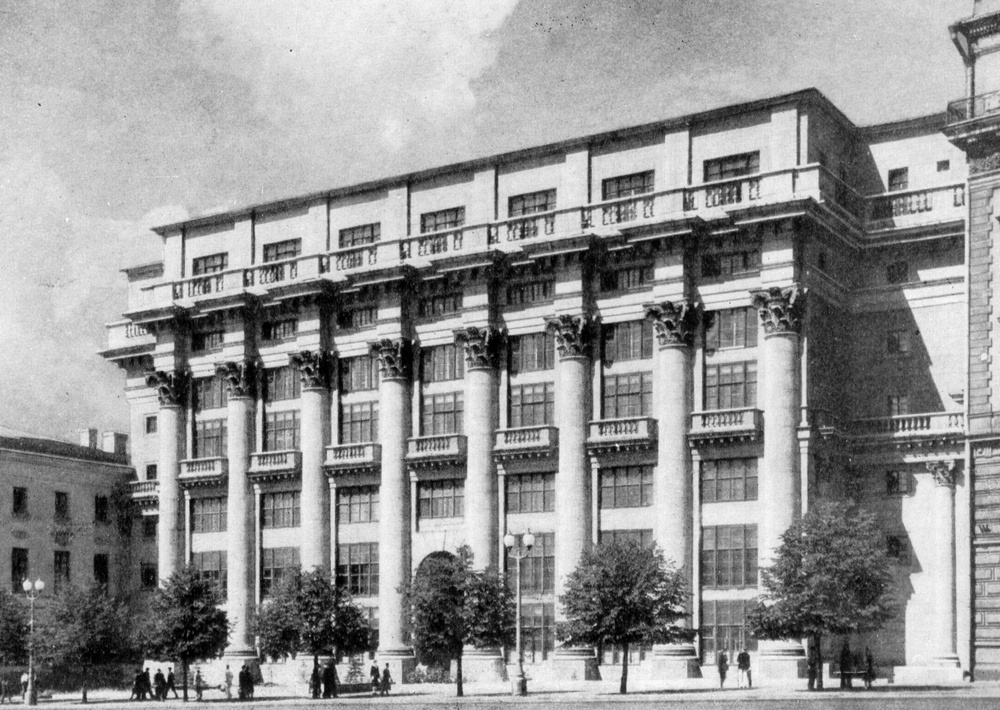 Бывшее здание посольства США на Моховой улице.
