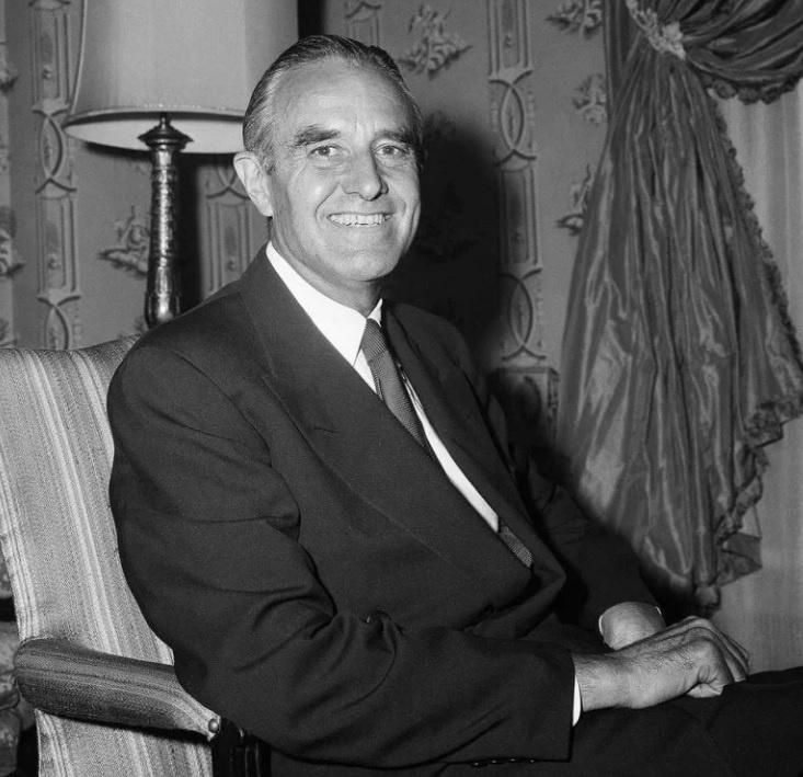 Посол США в СССР Аверелл Гарриман.