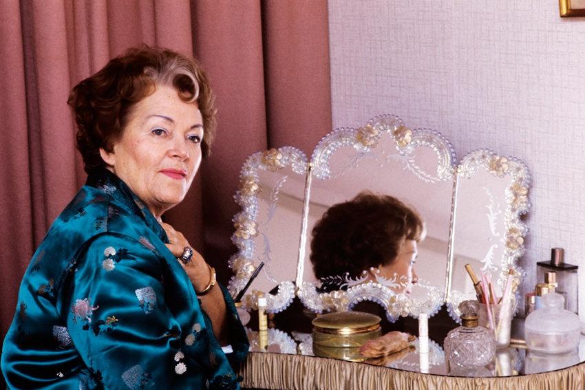 Ольга Чехова в 1974 г.