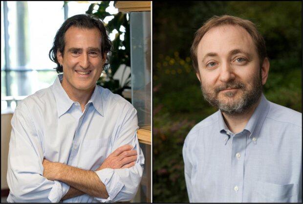 Эндрю Файер и Крейг Мелло, открывшие механизм РНК-интерференции в 1998 году.