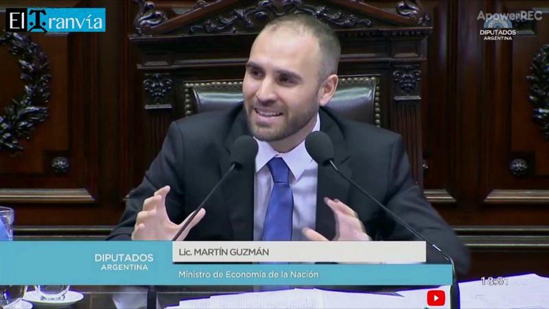 Министр экономики Мартин Гусман в Конгрессе Аргентины заявил, что у правительства есть «очень чёткая экономическая программа».