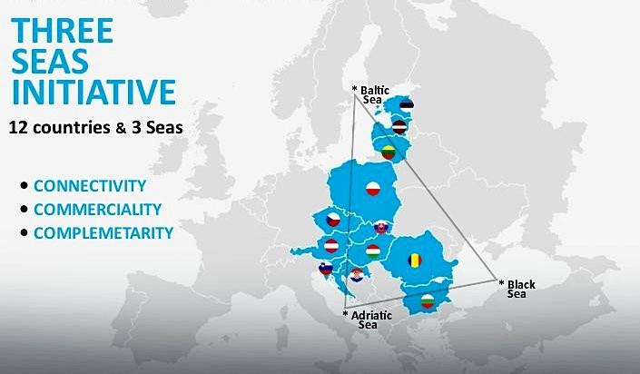 Инициатива «Триморье» предусматривает создание «санитарного кордона» и экономического союза от Балтики до Адриатики и Чёрного моря из государств Восточной и частично Южной Европы.