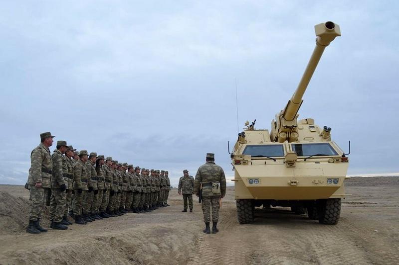 152-мм самоходная гаубица «Дана» в армии Азербайджана.