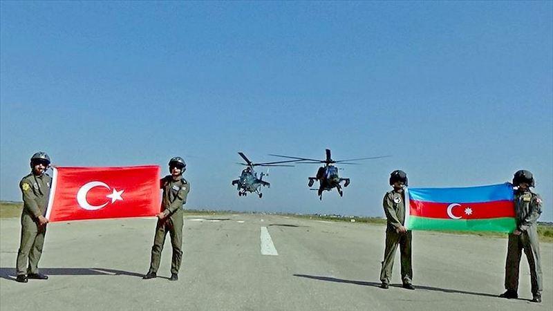 Совместные турецко-азербайджанские военные учения - «TurAz Qartalı-2019».