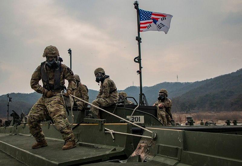 Совместные учения военных Кореи и США проводились регулярно с незапамятных времен.