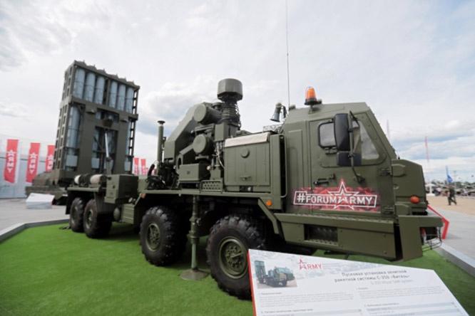 С-350 - это комплекс, предназначенный для прикрытия важных объектов.