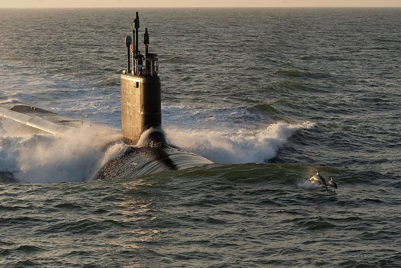 Подводная лодка Minnesota (SSN 783) класса «Вирджиния» - ударной единицей в стратегии «Глобального мгновенного удара».