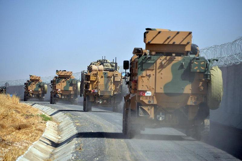 Турецкие военные находились в боевых порядках террористических группировок, где их не должно было быть в принципе.