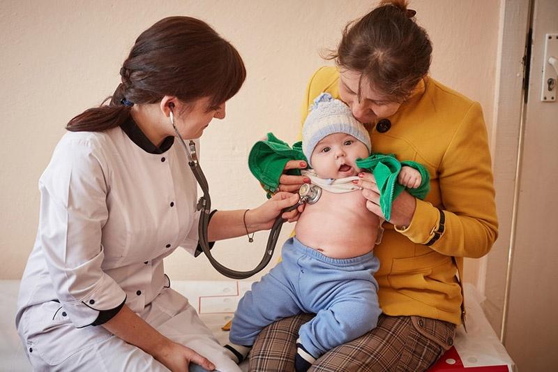 ЮНИСЕФ отметил тяжёлое положение с эпидемией кори на Украине.