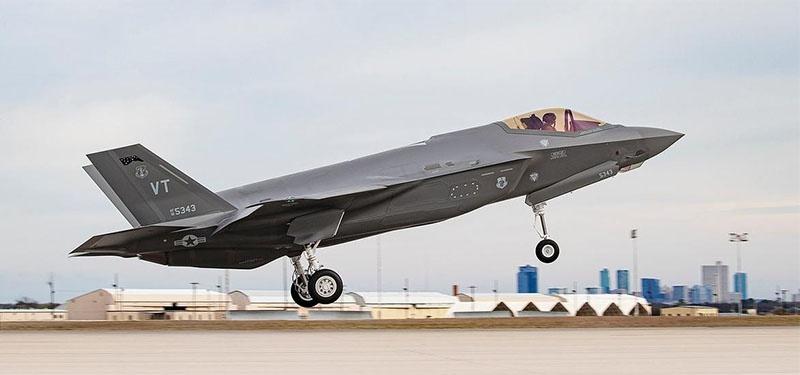 F-35 - самый современный американский истребитель.
