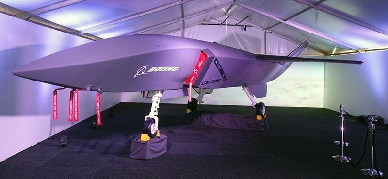 Разработка австралийского подразделения компании Boeing - беспилотный истребитель Loyal Wingman.