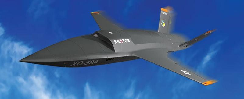 Американский БПЛА XQ-58A - «Валькирия».