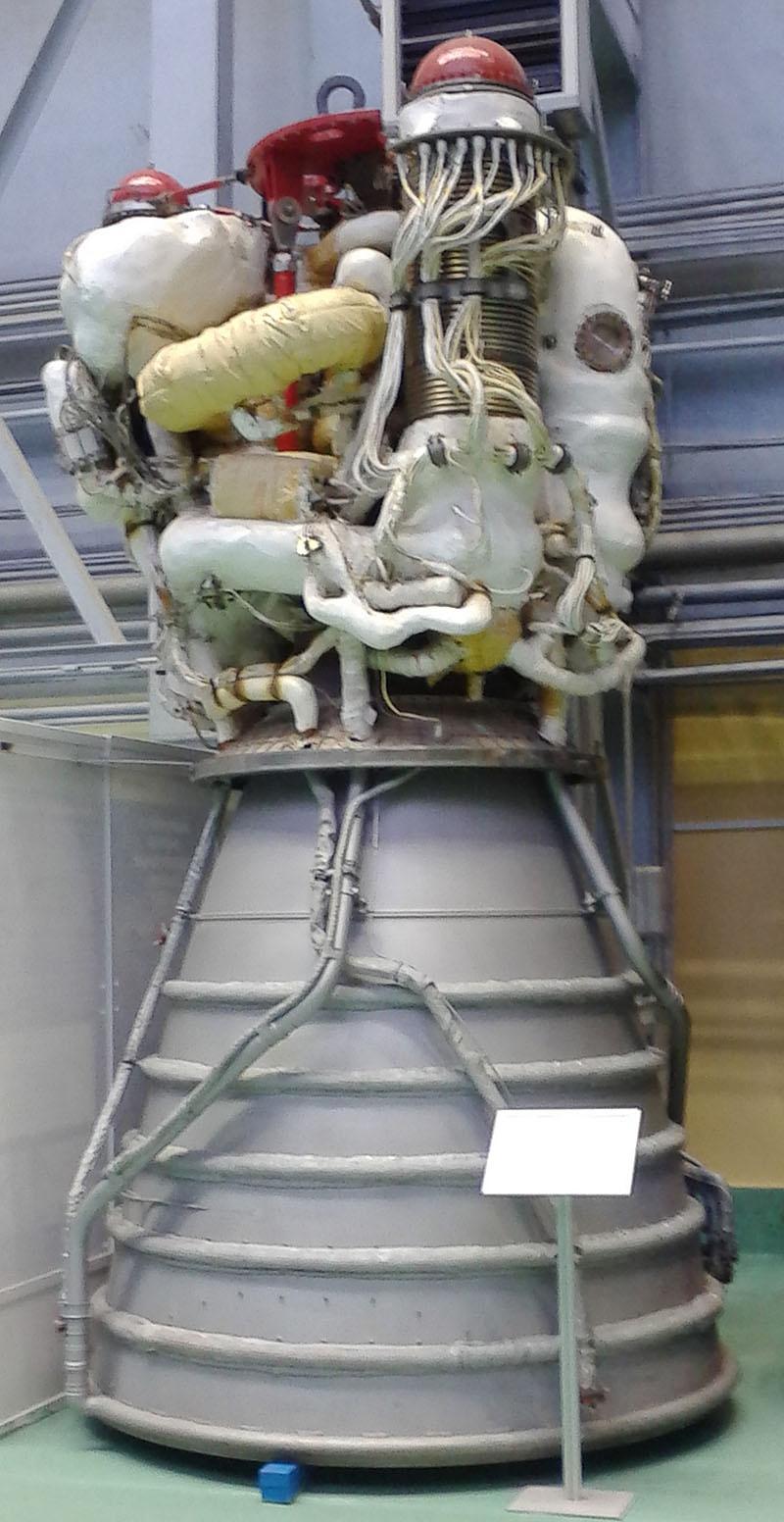 Ракетный двигатель РД-0120.