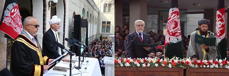 В Кабуле состоялось сразу две инаугурации двух президентов - Ашрафа Гани и Абдуллы Абдуллы.