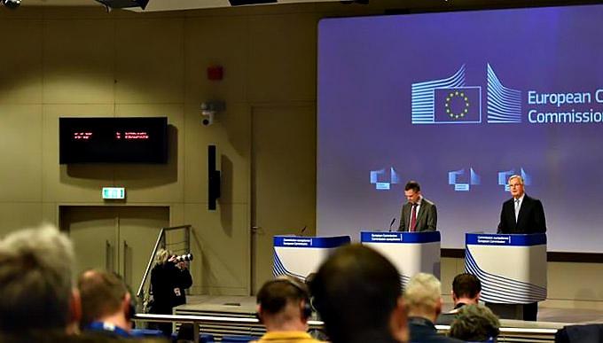 Главный переговорщик от Евросоюза Мишель Барнье пессимистично оценил прошедшие переговоры.
