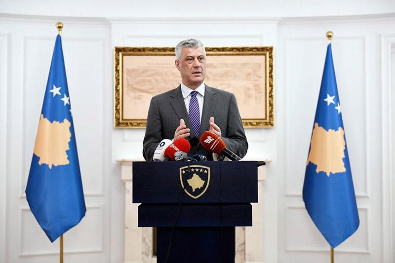 В июне прошлого года Хашим Тачи потребовал от Белграда признания независимости Косово.