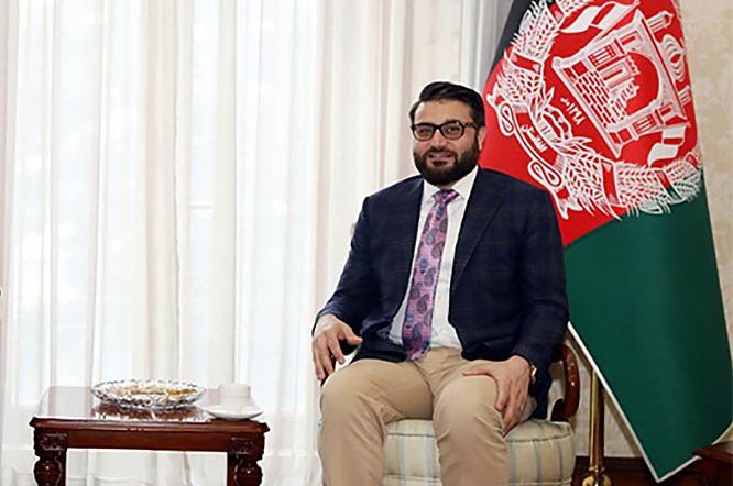Глава Совбеза Афганистана Хабдулла Мохиб.