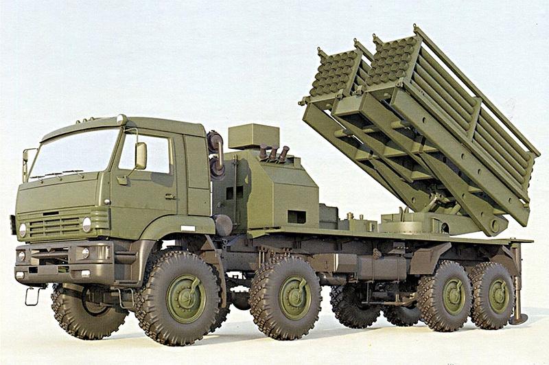 Машина инженерной системы дистанционного минирования (ИСДМ).