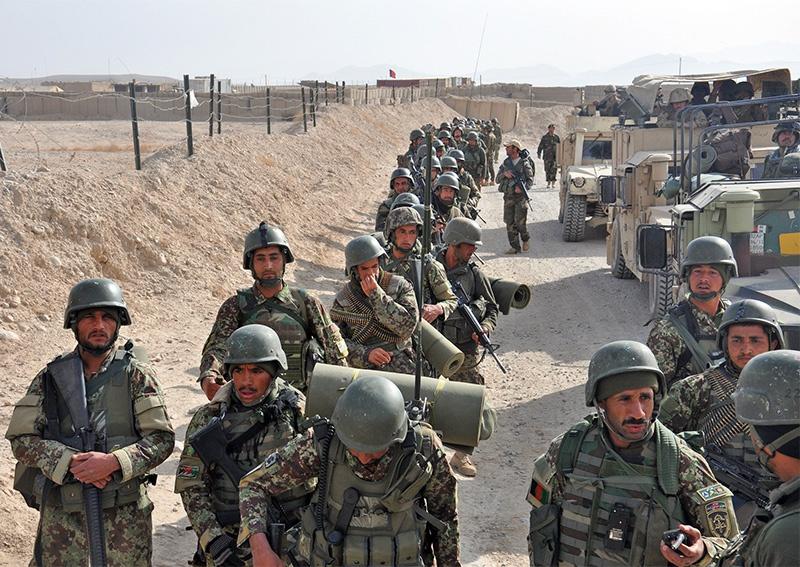 Афганские военные были атакованы талибами*, есть жертвы.