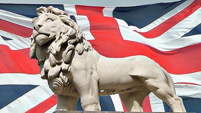 Британский лев готовится к свободному плаванию
