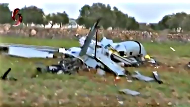 Сирийцам за несколько дней удалось сбить 12 беспилотников - 5 аппаратов «Анка» и 7 «Байрактаров».