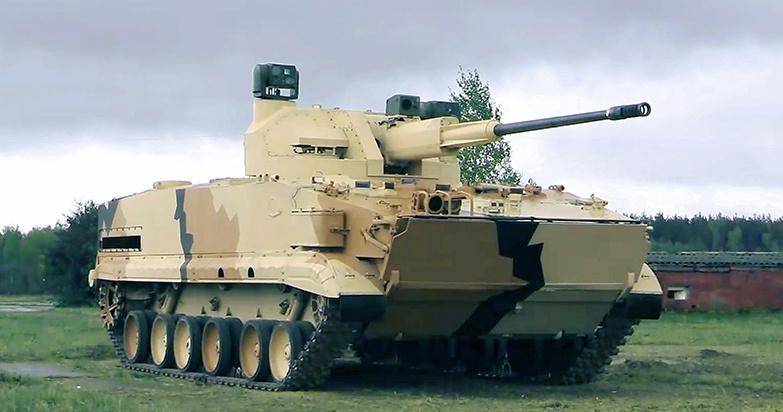 Боевая машина зенитного артиллерийского комплекса (ЗАК) 2С38 «Деривация-ПВО».