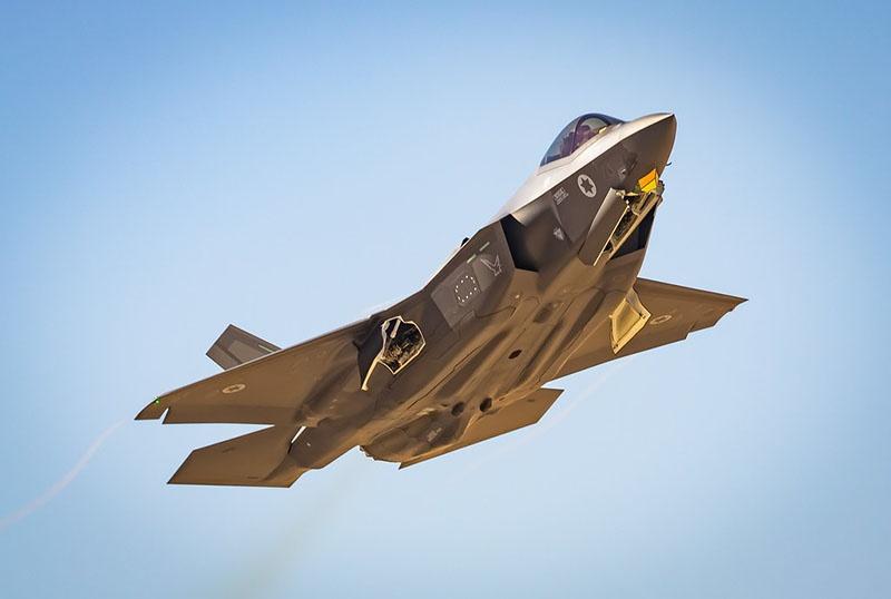 Впервые в боевой обстановке для атаки целей в Сирии F-35 был применён Армией обороны Израиля в мае 2018 года.