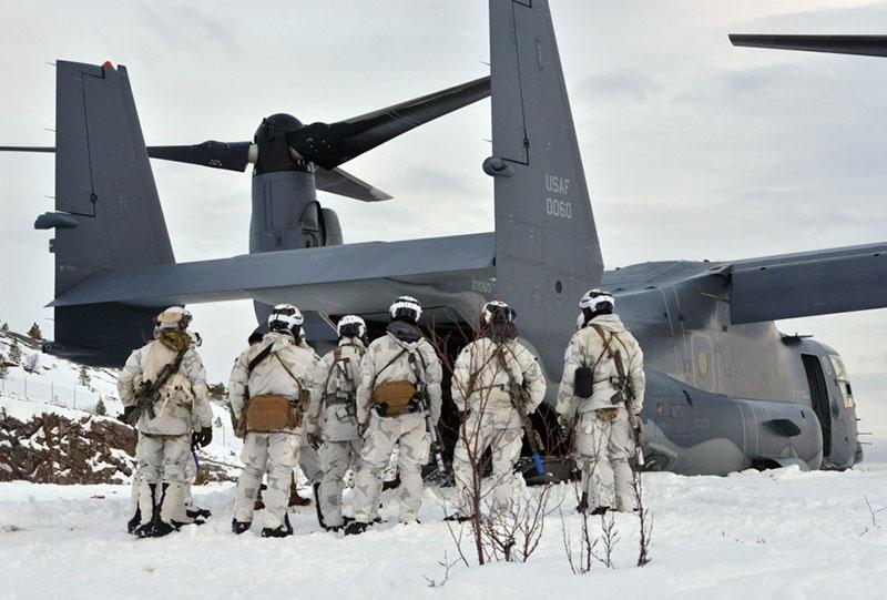 Морские пехотинцы США в Норвегии.