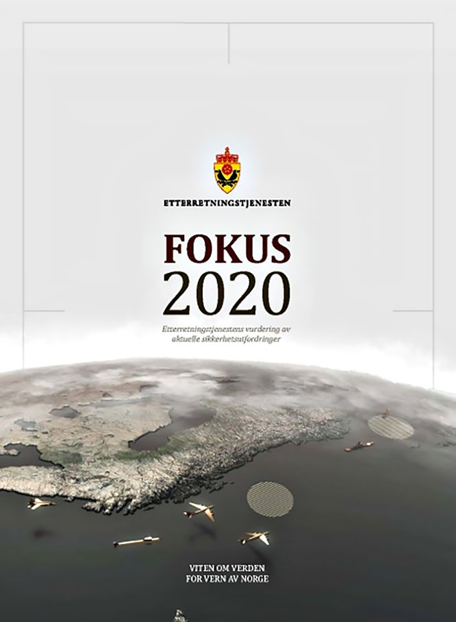 Доклад норвежской разведки Fokus 2020.