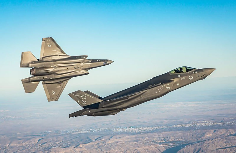 Утверждается, что якобы два истребителя-бомбардировщика F-35 провели разведку в районе иранских городов Бендер-Аббас, Исфахан и Шираз.