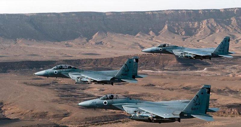 ВВС Израиля, включая F-16, F-15 и, возможно, F-35, действуют против Сирии.