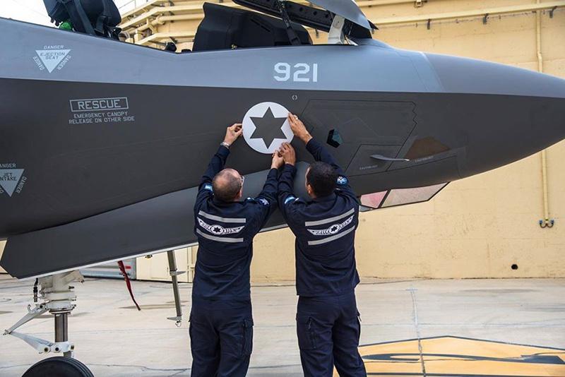 Новый F-35 прибыл из США для ВВС Израиля.