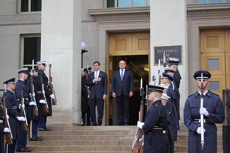 Министр обороны Эстонии Юри Луйк встретился с главой Пентагона Марком Эспером.