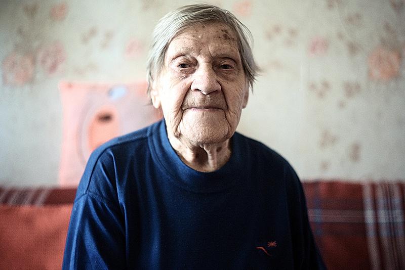 Санинструктор Кузнецова Анна Антоновна, 1919 года рождения.